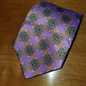 "Robert Talbott ""Best in Class"" 100% pure silk tie"